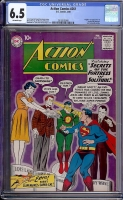 Action Comics #261 CGC 6.5 ow Mound City