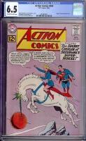 Action Comics #293 CGC 6.5 ow/w Mound City