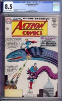 Action Comics #303 CGC 8.5 ow/w Mound City