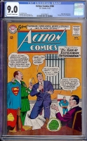 Action Comics #306 CGC 9.0 ow/w PA. Dutch Collection