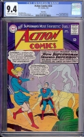 Action Comics #332 CGC 9.4 ow/w Twin Cities