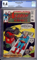Action Comics #387 CGC 9.4 w Twin Cities