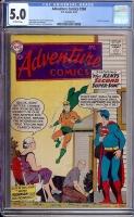 Adventure Comics #260 CGC 5.0 ow