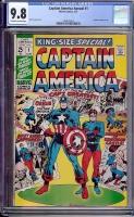 Captain America Annual #1 CGC 9.8 ow/w