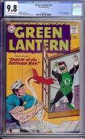 Green Lantern #23 CGC 9.8 ow/w