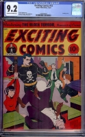 Exciting Comics #13 CGC 9.2 cr/ow