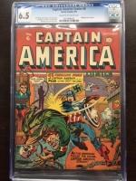 Captain America Comics #6 CGC 6.5 cr/ow
