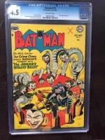 Batman #73 CGC 4.5 ow