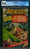 Avengers #3 CGC 9.4 ow/w