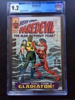 Daredevil #18 CGC 9.2 ow/w