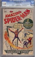 Amazing Spider-Man #1 CGC 1.0 ow