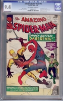 Amazing Spider-Man #16 CGC 9.4 ow/w