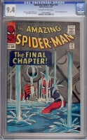 Amazing Spider-Man #33 CGC 9.4 ow/w