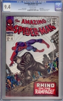 Amazing Spider-Man #43 CGC 9.4 ow