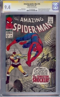 Amazing Spider-Man #46 CGC 9.4 ow/w CGC Signature SERIES