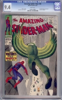 Amazing Spider-Man #48 CGC 9.4 w