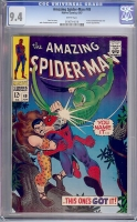 Amazing Spider-Man #49 CGC 9.4 w