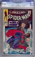 Amazing Spider-Man #52 CGC 9.4 w