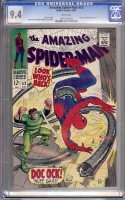 Amazing Spider-Man #53 CGC 9.4 w