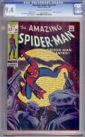 Amazing Spider-Man #70 CGC 9.4 cr/ow
