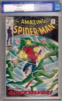 Amazing Spider-Man #71 CGC 9.4 ow