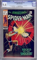 Amazing Spider-Man #72 CGC 9.4 ow/w