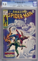 Amazing Spider-Man #74 CGC 9.6 ow