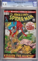 Amazing Spider-Man #104 CGC 9.4 w