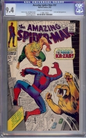 Amazing Spider-Man #57 CGC 9.4 cr/ow