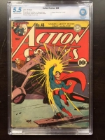 Action Comics #48 CBCS 5.5 ow/w