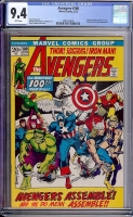 Avengers #100 CGC 9.4 w