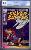 Silver Surfer #4 CGC 9.0 ow/w