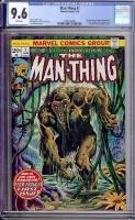 Man-Thing #1 CGC 9.6 w