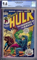 Incredible Hulk #182 CGC 9.6 ow/w