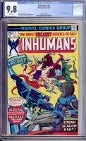 Inhumans #1 CGC 9.8 w