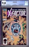 X-Factor #6 CGC 9.8 w