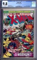 X-Men #95 CGC 9.8 w