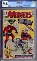 Avengers #2 CGC 9.4 ow/w