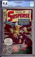 Tales of Suspense #42 CGC 9.4 cr/ow