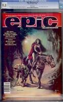 Epic Illustrated #15 CGC 9.8 w