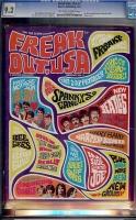 Freak Out, USA #2 CGC 9.2 ow/w