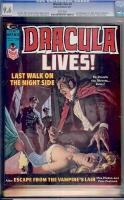 Dracula Lives #8 CGC 9.6 w