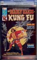 Deadly Hands of Kung Fu #5 CGC 9.8 ow/w Don Rosa Collection