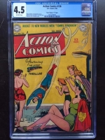 "Action Comics #136 CGC 4.5 ow Davis Crippen (""D"" Copy)"