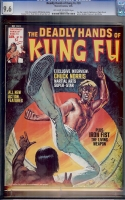Deadly Hands of Kung Fu #20 CGC 9.6 ow/w