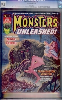 Monsters Unleashed #5 CGC 9.8 w