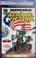 Unknown Worlds of Science Fiction #2 CGC 9.8 w