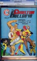Charlton Bullseye #3 CGC 9.8 w