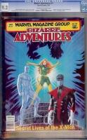 Bizarre Adventures #27 CGC 9.2 cr/ow