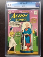 Action Comics #256 CGC 8.5 w Oregon Collection